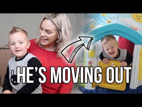 HE'S MOVING OUT | A HUGE SURPRISE FOR RENZO | CHRISTMAS PRESENT IDEAS FOR KIDS AD