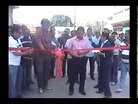 Ribbon Cutting of General Arolas Street in Jolo, Sulu