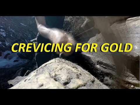 Prospecting Clear Creek, Colorado - Crevicing for Gold!