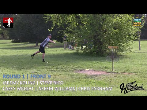 The Disc Golf Guy - Vlog #272 - Koling Rico Williams Wright Farnham Rnd 1 Front 9 - Nick Hyde