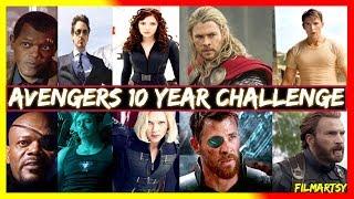 Avengers 10 Year Challenge | Ft. All Avengers from Avengers-1 to Avengers 4: Endgame