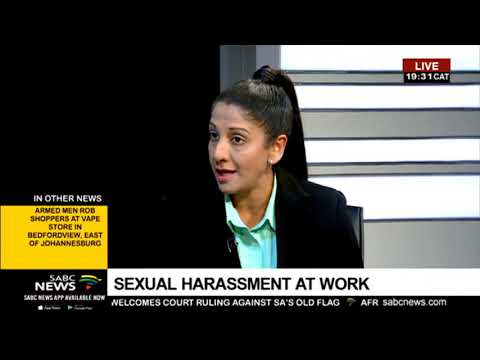 DISCUSSION: Issues of sexual harassment in the workplace