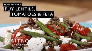 Puy Lentils, Tomatoes & Feta - Waitrose Recipe