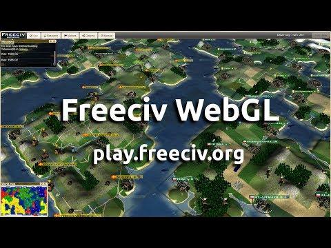 Freeciv WebGL 3D