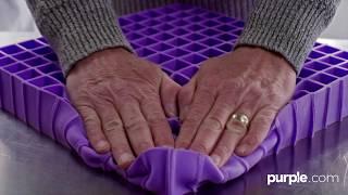 How It's Made - Purple Mattress Factory Tour thumbnail