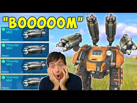BOOOM! Hard Hitter Mk2 Thermite Behemoth War Robots Gameplay WR