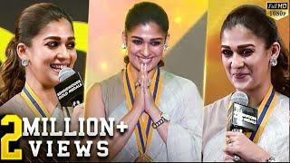 Nayanthara's Super Cute Speech😍 & Stunning Ramp-Walk! - Dont Miss!! | BGM 2018