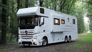 Интересные факты: Шикарный дом на колесах от Mercedes (Полное видео)