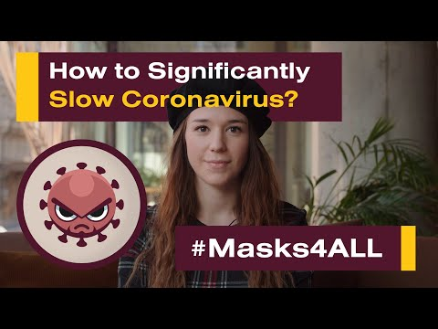 How to Significantly Slow Coronavirus? #Masks4All (featuring Minister of Health of the Czech Rep.)