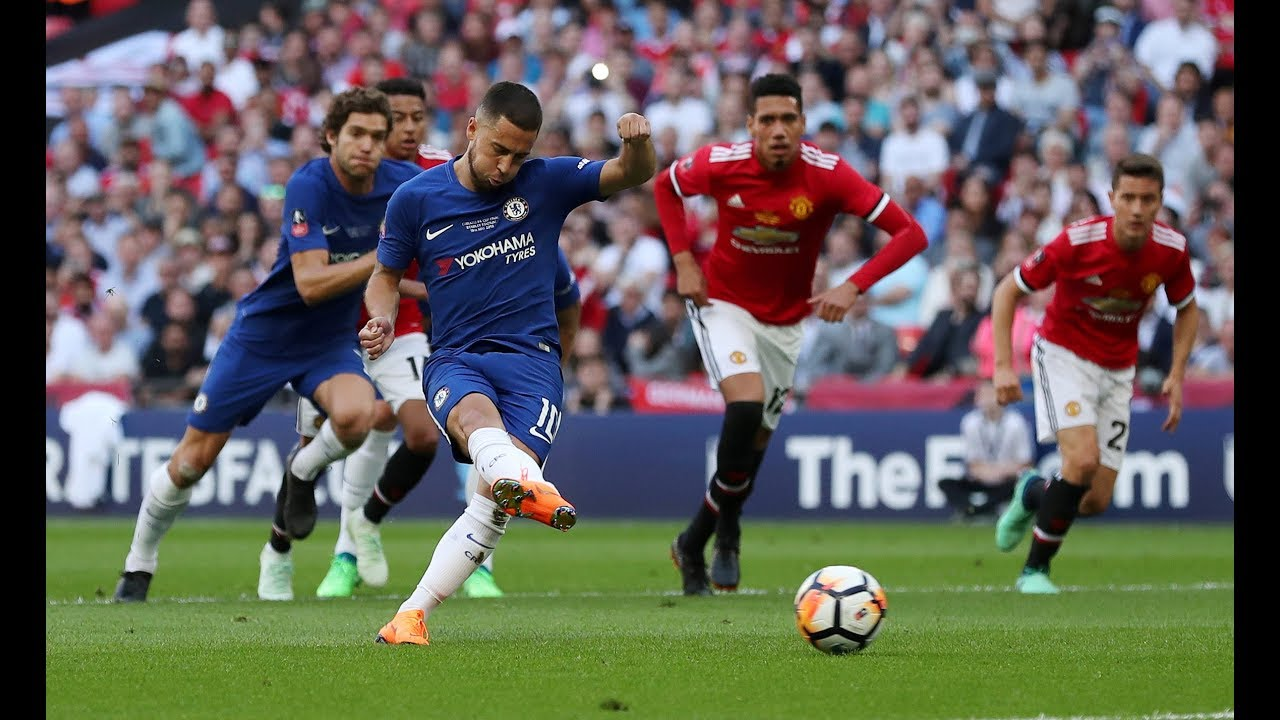 Chelsea 1-0 Manchester United: FA Cup final in numbers - YouTube