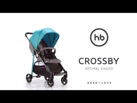 CROSSBY by HB | Happy Baby® - обзор всех функций прогулочной коляски