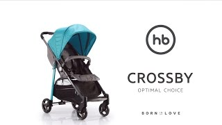 CROSSBY by HB   Happy Baby® - обзор всех функций прогулочной коляски