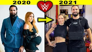 5 Shocking WWE Couples Transformations 2021 Becky Lynch Seth Rollins 2021