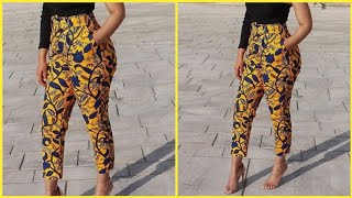 How to make female Pant/Trouser (Part 1)