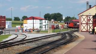 Railroad Trip on the Strasburg Railroad 475