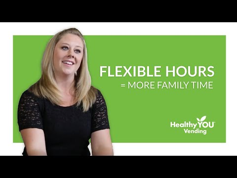 Healthy YOU Vending Review - Flexible Hours, More Family Time