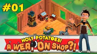 Holy Potatoes! A Weapon Shop? | #01 Paparmería | Español(, 2016-04-27T09:16:40.000Z)