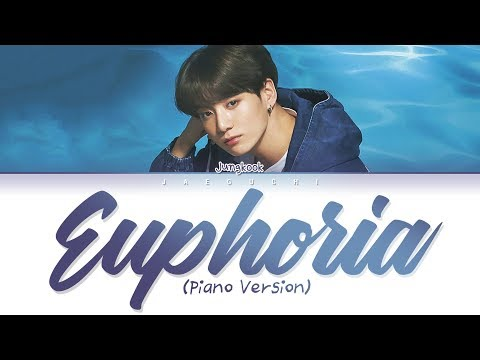 Free Download Bts Jungkook (정국) - Euphoria (piano Ver.) (lyrics Eng/rom/han/가사) Mp3 dan Mp4