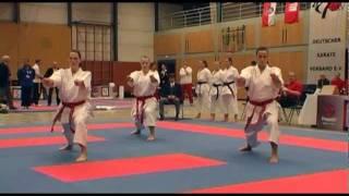 KARATE DM 2011 (DKV) Kata Team Damen USV Erfurt vs. SC Judokan Frankfurt II