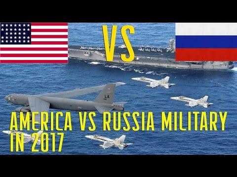 America vs Russia Military Power in 2017 USA and Russia Army Comparison