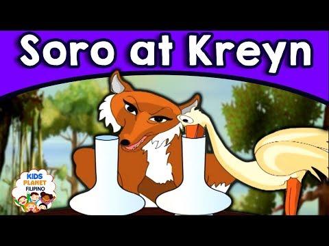 Soro at Kreyn - Kwentong Pambata - Mga kwentong pambata tagalog na may aral - Pambatang kwento