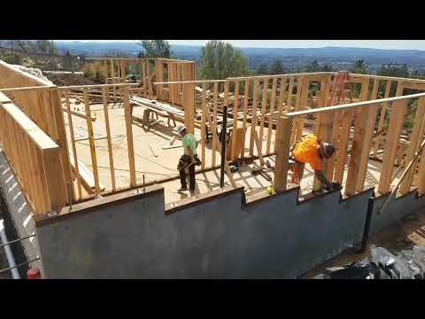 The first walls go up in Fountaingrove