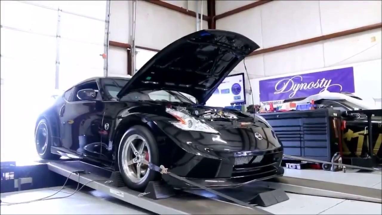 Dynosty's 370z Horsepower Record - Stock Block - Turbocharged - VQ37