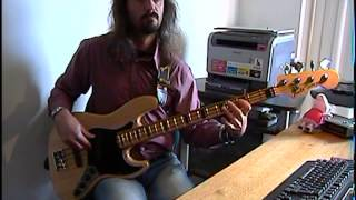 Frank Zappa - Hungry freaks, daddy BASS COVER by FFKING