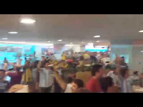Argentinos Brasilia Shopping  Post cuarto de final