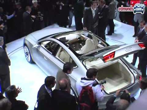 Audi A7 Sportback Concept  | 2009 NAIAS | Edmunds.com