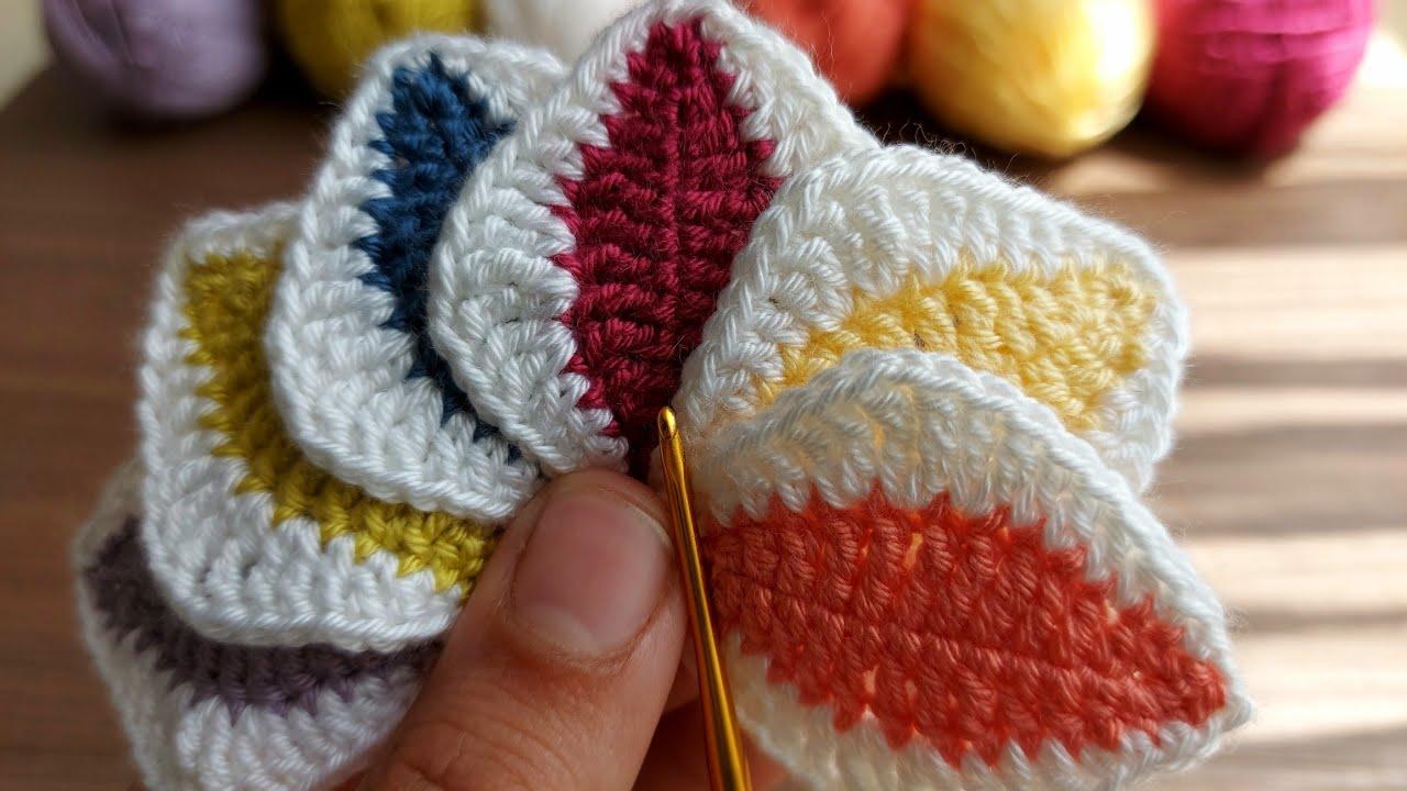 Super Easy Crochet Knitting - Tığ İşi Örgü Modelini Çok Seveceksiniz