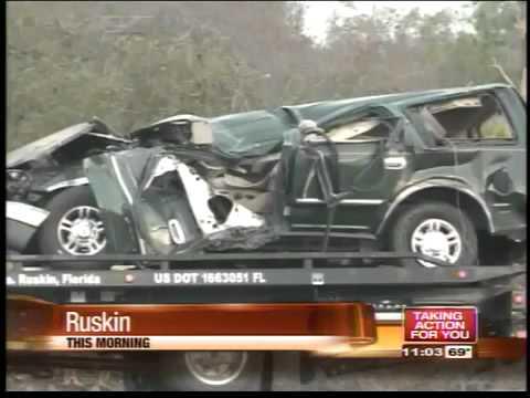 FHP: 3 dead in U S  41 Ruskin crash