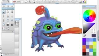 Skylanders speed painting - How to draw Wrecking Ball