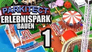 Parkitect - 1 - Erlebnispark bauen [ Let's Play Parkitect Deutsch Gameplay ]