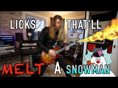 5 Licks That'll MELT a SNOWMAN!! ( With Tabs)