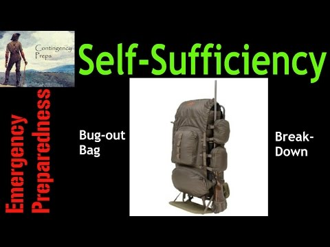 Bug-out Bag Breakdown