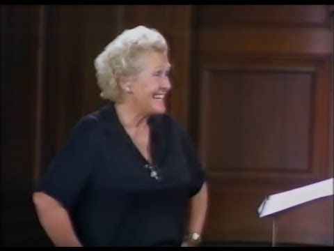 PART 1.TV.Elisabeth Schwarzkopf.MASTERCLASS.EDINBURGH.1980.Introduction programme.