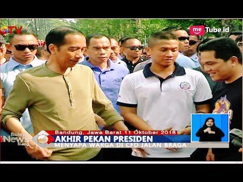 Setelah Blusukan di Pasar Cihaurgeulis, Jokowi Lanjut ke CFD Braga - BIS 12/11 Mp3