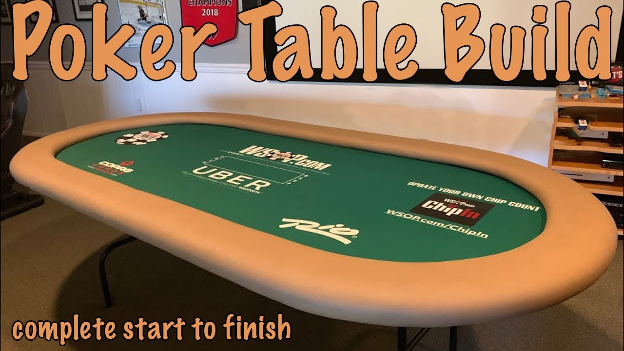 learn to build a poker table