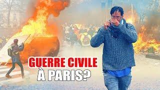 GILETS JAUNES : GUERRE CIVILE À PARIS?? ça tourne mal (vraiment!)