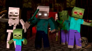 - War A Minecraft Parody song of Burn By Ellie Goulding Animated Minecraft Parody