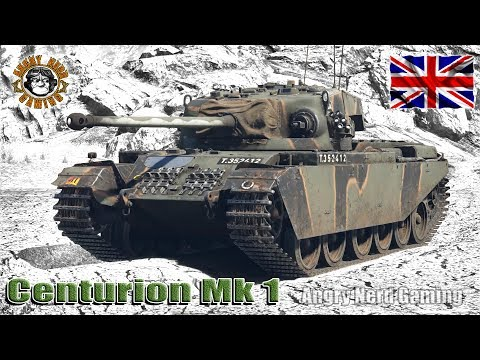 War Thunder: Centurion Mk.I, British, Tier-4, Medium Tank
