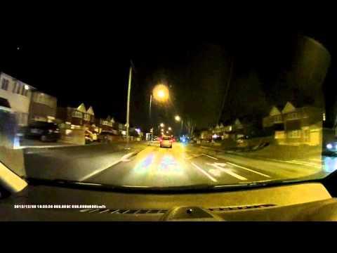 Asus Reco Classic Dash Cam Night Time Footage - PC Advisor