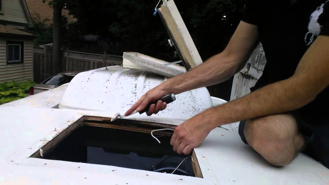 Install A New Replacement Rv Roof Vent Fan Part 2 Youtube