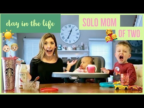 DAY IN THE LIFE OF A MOM👩‍👧‍👦 | SOLO ROUTINE SPRING 2018 🌸 | brianna k