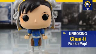 Chun-li - Funko Pop! 136 - Street Fighter Série 1 | Unboxing