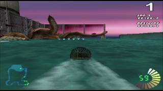 RC Revenge (PS1) - Gold Cup Gameplay