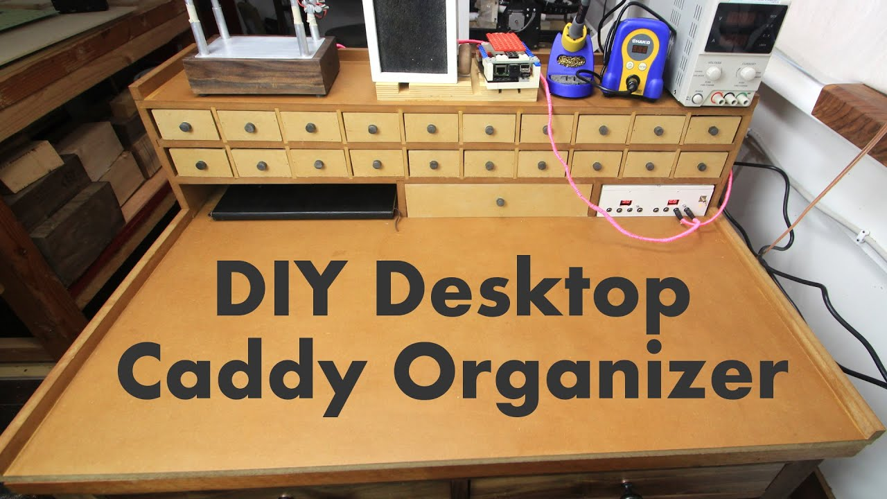 Ultimate DIY Small Parts Organization Caddy  YouTube