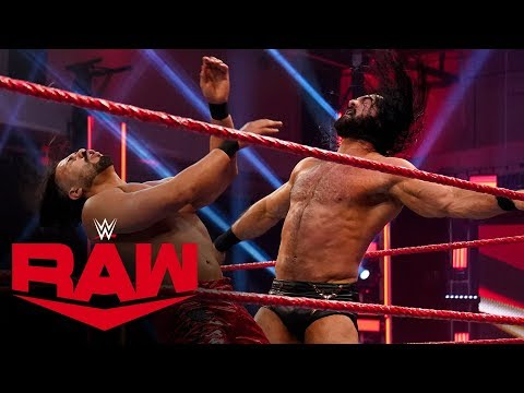 Drew McIntyre vs. Andrade – Champion vs. Champion Match: Raw, April 13, 2020