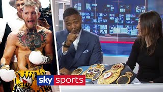 'CONOR MCGREGOR WOULD GET STOPPED BY KATIE TAYLOR!' | On win over Volante & ambition to unify | T2T